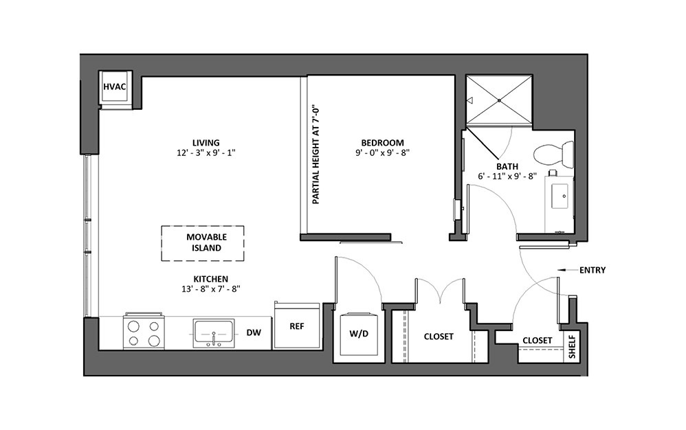 Accelerando 2 1 Bath Floorplan