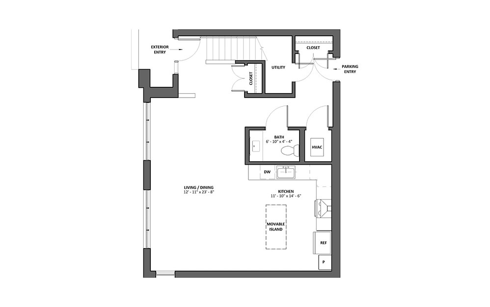 Terzina 3 Bed 3.5 Bath Floorplan